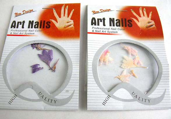 Nail paint distributers has Real Flower nail art supplies