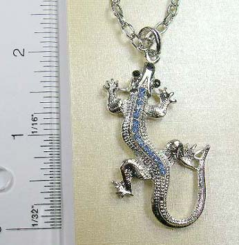 On sale wholesale jewelry distribute gecko pendant with for Handley rock jewelry supply vancouver wa