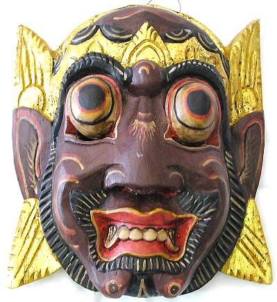 Indonesian Mask Hand Carved Masks Wooden Masks Wholesale Clothing Fashion Jewelry Blog