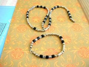 bracelet-necklaces-set, Pearl Necklace & Bracelet Set, wholesale jewelry sets