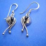 bronze pearl earrings, wholesale earrings