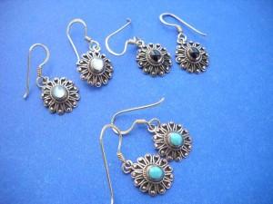 bronze earrings, bronze chandelier earrings, Fashion Network