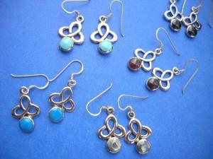 bronze earrings, bronze jewelers, wholesale jewelry