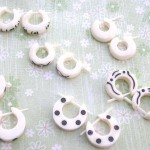 natural-bone-earrings-003assortment, recycled jewelry, wholesale organic jewelries
