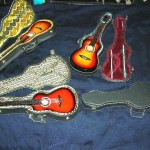 miniature-guitar-withcase, miniature electric guitar, Wholesale musical instrument