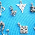 cetlic-animal-mix-silver-pendant, celtic silver pendant, wholesale celtic silver jewelry