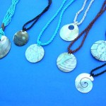 shell-necklace-mix, shell necklace designs, wholesale organic jewelry