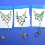 slave-hand flower-bracelets, wholesale fashion bracelets