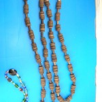 chucky-wood-beaded necklaces, Wood pendant necklace, wholesale distribution