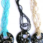 seashell-nacklaces, snail necklace, wholesale organic jewelries