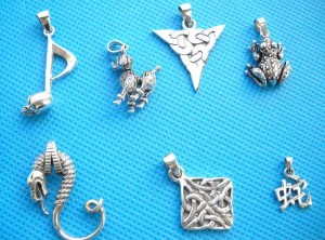 cetlic-animal-mix-silver-pendant, Celtic Craft, Fine Handcrafted Sterling Silver