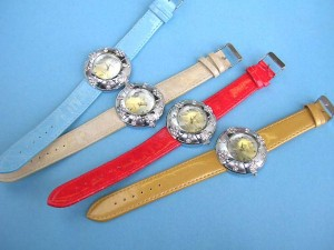 cz-leather-band-watch, Watch Bands, wholesale Watch Straps