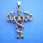 Bronze pendant necklace, Ancient Persian Pendant Jewelry, Bronze Bull