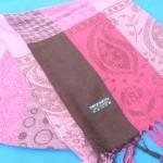 batik-strip-design-pashmina, Pashmina Shawl Scarf, Multi-Color Batik Design