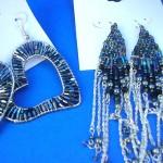 beaded-earring, alloy earring fashion earring retailer wholesale