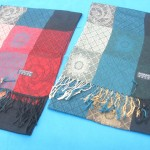 grid-fashion-scarves, polyester scarves wholesale, offers from polyester scarves