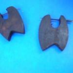 pin-wood-earlets, Wholesale organic Jewelry, natural bone horn wood earlets