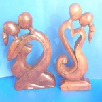 abstract-carvings, hand carved stone abstract figurine, wholesale wood figurines