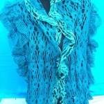 acrylic-knit-shawls, Scarf Wrap, wholesale knit neck accessories