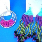 beaded-earring, wholesale bead earrings, Original Handmade Beaded Jewelry