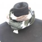 cotton-crinkle-tie dye-scarves, fun cotton scarf importer exporter
