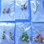 chinese-cloisonne-enamel-earring, Enamel Jewelry, Cloisonne Jewelry, wholesale closeouts