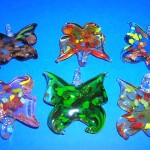 handmade-glass-pendants, Glass lampwork focal heart pendant, wholesale websites
