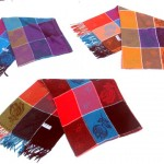 women-fashion-grid-shawl, woman shawl picasso, shawls wholesale distributers