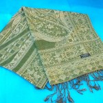 woolen-shawls-stoles-metallic-gold, Fancy Sarongs wholesaler