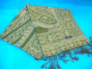 woolen-shawls-stoles-metallic-gold, Fancy Sarongs wholesaler
