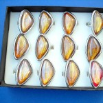 adjustable-rings-with-glass, plastic rings, lucite rings, stone rings wholesaler