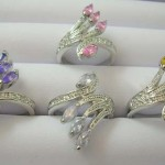 cz-ring, 14kt white gold cz rings, wholesale merchandise