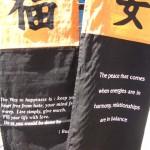 wholesale Affirmation Banner . Unique asian theme banner display decor.
