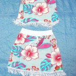 wholesale fashion skirts. baby skirt top set with fringes, fits 1 to 2 years old.