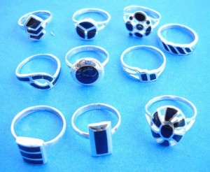 wholesale organic rings. Wedding choose, wholesale fashion black onyx sterling silver ring, randomly picked by our warehouse staffs .