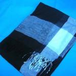 fashion scarve exporter. black-white-unisex.