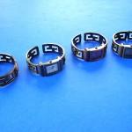 watch wholesaler. Bali artisan theme puzzle designed bangle bracelet on copper bronze watch.