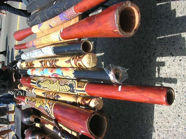 Pictures Of Musical Instruments Handcrafted Wooden Australian Didgeridoo Instrument
