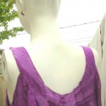 clothing store. Sleeveless Bali rayon dresses. More designs and colors are available.