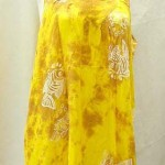 Wholesale Bali Batik clothing. Sleeveless Bali rayon dresses. More designs and colors are available.