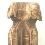 Wholesale Bali Batik clothing. Off shoulder tube top sundresses handmade in Bali Indonesia.