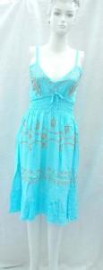 women's clothing online stores. Trendy animal skin prints rayon long dresses. Adjustable shoulder stripes. Smocked tube top, elasticised on front and back.