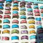 Bali Handcrafted Djembes. handcrafted fimo wear ring.