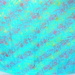 wholesale swimsuits. Bali double process sarong floral turquoise.