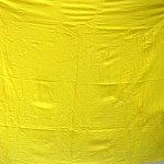 fashion trend. yellow plain sarong with embroidery.