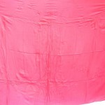 Sarong Apparel. red plain sarong with embroidery.