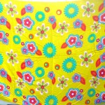 Wholesale Hippie Clothing. bright yellow floral beach sarong.