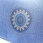 wholesale sarong hand painted. Bali handmade sarong traditional pasley petals design in circle and border.