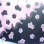 wholesale summer clothing. Aloha Hawaiian hibiscus flower summer beachwear yingyang black and pink color.