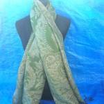 Mongonia Pashmina Shawl. gold-metallic-pashmina-shawl.
